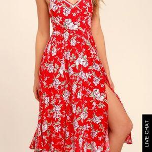Lulu's Dresses - NWT Lulu's Esperanza Midi Dress